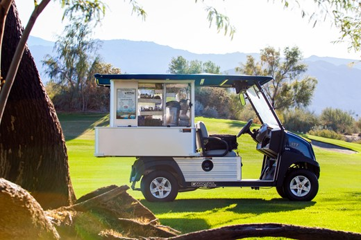 CLUB CAR CAFE EXPRESS BAR MOBILE: Veicoli elettrici