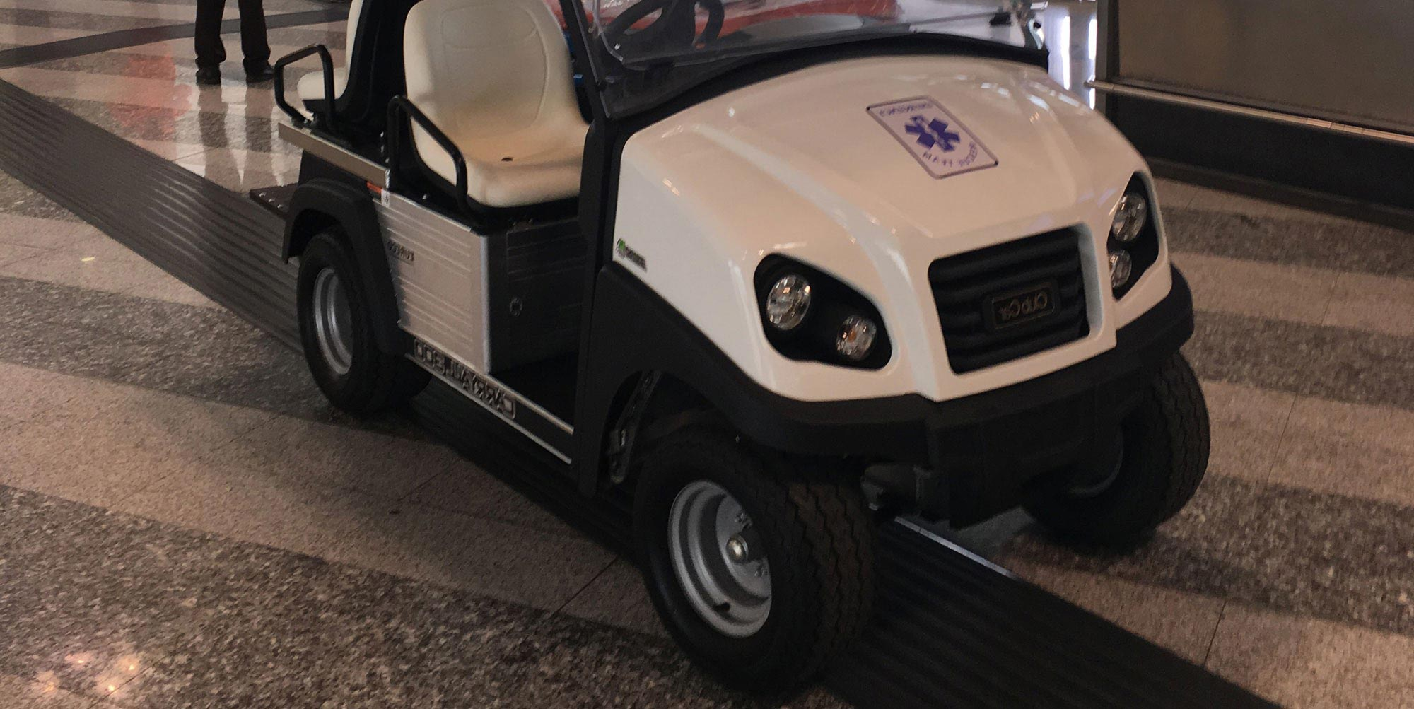 Club Car Carryall 300 Ambulanza