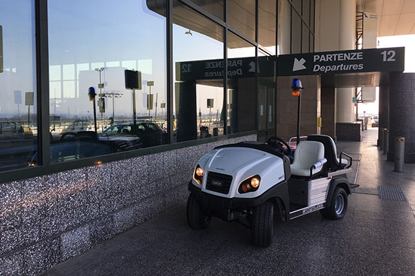 golf car settore aeroportuale